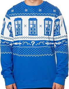 Host Your Own Doctor Who Tacky Holiday Sweater Party – Ugly Sweaters By City