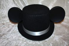 How to Make Your Own Mickey Groom Tuxedo Ears - Inspired By Dis