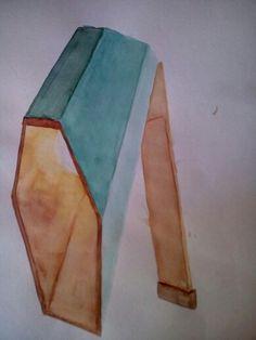 Lámpara- Técnica: acuarelas