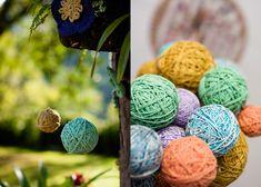 bolas de lã