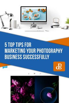 With these tips for marketing your photography business, you'll have a much better chance at reaching the clients you want. Photography Marketing, Photography Editing, Photography Business, Business Planning, Business Tips, Photo Book Printing, Printed Portfolio, Digital Photography School, You Better Work