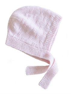 Ravelry: Baby Bonnet pattern by Wendy Bernard
