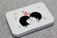 Tin Box Sticker Set  Korean Girl Sticker   Deco Sticker by mieryaw, $4.20