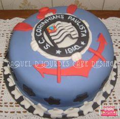 Raquel D'Lourdes Cake Design: Bolo do Corinthians