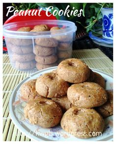 Chinese New Year Cookies - Peanut Cookies (花生饼)#kenneth_goh  #guaishushu   #peanut_cookies   #花生饼