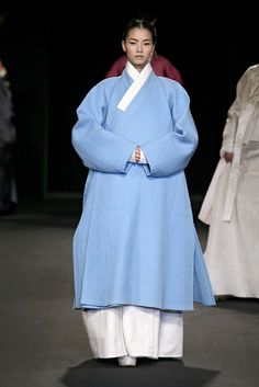 Women used to wear jangot when going out of the house, Korean traditional attire, hanbok, outerwear