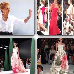 Estas son algunas de las imagenes y modelos de su nueva colección que acaba de presentanda en el #MBFW #ss15 #herreralive @houseofherrera #CarolinaHerrera #nyfw #newyork #moda #fashion #fashiondiaries #asilovecamilamoda #asilovecamilafashion #Padgram