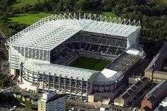 St. James Park, Newcastle upon Tyne England