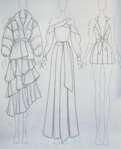 Fashion Drawing Tutorial, Fashion Figure Drawing, Fashion Illustration Tutorial, Fashion Model Drawing, Fashion Drawing Dresses, Fashion Illustration Dresses, Dress Design Drawing, Dress Design Sketches, Fashion Design Sketchbook