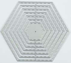 Pentagon Metal DIY Cutting Dies Stencil Scrapbook Paper Card Embossing Craft dec #Unbranded