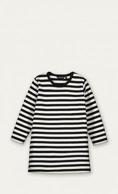 Piatta -mekko - musta, valkoinen - Kaikki tuotteet - Vaatteet - Ale - Marimekko.com
