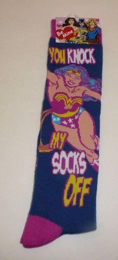 DC Comics Women's Socks - Wonder Woman Valentine's Day Ladies Socks Cute Lasso #HYPNYC