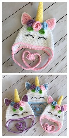 Crochet hats 238831586477745841 - Unicorn Hat Free Crochet Patterns – DIY Magazine Source by DIYDailyMag Crochet Unicorn Hat, Crochet Animal Hats, Crochet Baby Hat Patterns, Crochet Kids Hats, Crochet Baby Clothes, Crochet Crafts, Crochet Projects, Free Crochet, Girl Crochet Hat
