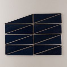 Our Scalene Triangle in Navy Blue. Fireclay Tile