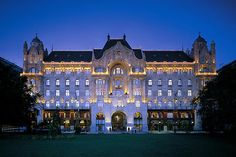 Budapest, Hungary-Four Seasons Gresham Palace