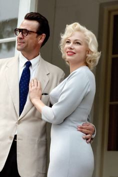 10 actresses that were cast as Marilyn Monroe in movies: Michelle Williams in My Week With Marilyn.