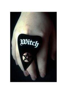 The Pumpkin Coven Witch Planchette Ring