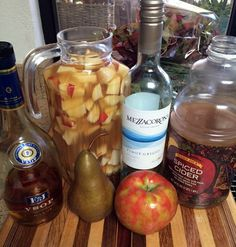 Apple Cider Sangria - the perfect Thanksgiving cocktail