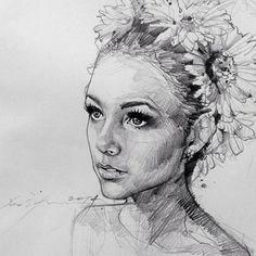 Alvin Chong - Old sketch.