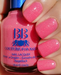 We Love the TaTas to support breast cancer research. 50% of all the proceeds from the sale of this polish will be donated.