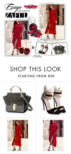 """""""Zaful 1"""" by albinnaflower ❤ liked on Polyvore featuring zaful"""