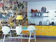 Papel pintado lavable panor�mico de papel no tejido DL-GRUNGE Colecci�n DOUBLE STRIPS by LGD01