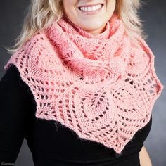I don't knit, but this is gorgeous!! -Lee Ann H:  Beautiful Icelandic Lopi #Shawl