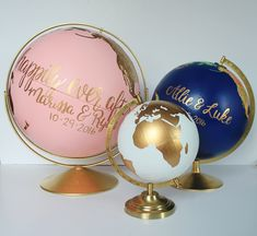 Black Friday/Small Business Saturday/CyberMonday sale: 25% off of Ready to Ship globes, 10% off custom globes. Sale ends at 11:59 PM Monday 11/27 considertheworld.com