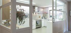 puerta corredera de cristal en la cocina??