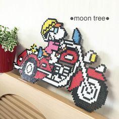 『バイカースヌーピーアメリカンバイク●レッ… (¥3,600)』 フリマアプリ「メルカリ」で販売中♪