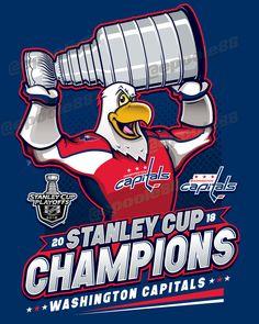 Congrats to the Capitals, the 2018 Stanley Cup Champions! Washington Capitals Stanley Cup, Washington Capitals Hockey, Caps Hockey, Hockey Teams, Hockey Players, Hockey Girls, Hockey Mom, Hockey Stuff, Ice Hockey