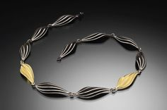 Samantha Freeman - Gold Mist Necklace