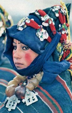 Jeune berbère femme marocaine haut Atlas !