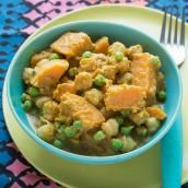 Sweet Potato and Chickpea Curry | ChopChop