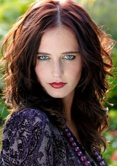 The beautiful Eva Green as Serafina Pekkala. She is character in the book These Dark Materials (The Golden Compass movie) and is a queen witch of a clan of witches living in the Lake Enara region.