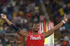 Bois! Trinidad and Tobagos Keshorn Walcott competes in the Mens javelin. Bronze medal #rio2016 #Trinidad #tobago #teamtto