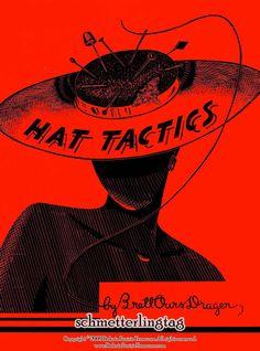 1950 Millinery Lessons Book HAT TACTICS Making Hats Pattern Millinery DIY Guide Korean War Era