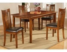 Silverton 5-Piece Medium Oak Pub Set | 55DowningStreet.com, 42x42x36, $600