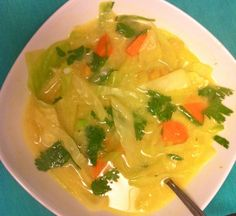 Curry Cabbage Soup Recipe -- flavourful, fragrant, deeeeelicious!