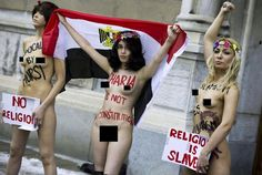 Bare Breasts In A Mosque: Outrageous Feminist Protest Is Hard To Ignore (VIDEO NSFW)