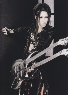 The GazettE Guitarist -> Aoi // He's love.