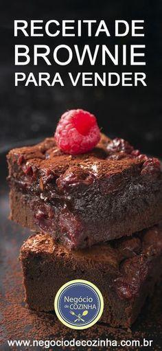Aprenda uma deliciosa receita de brownie para você começar a vender e ganhar dinheiro! Esse bolinho é uma excelente oportunidade de você começar um negócio lucrativo, sair do vermelho e ganhar além de dinheiro, qualidade de vida! Venha aprender! #façaevenda #brownie #receita #receitadebrownie #venderbrownie #ganhardinheiro #doces #cozinha #culinária #gastronomia