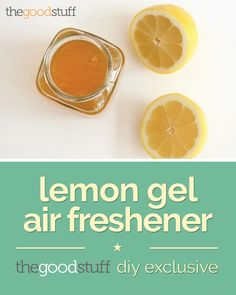 Lemon Gel Air Freshener (DIY Exclusive) | thegoodstuff