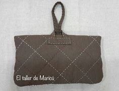 El taller de Maricú: Boro Clutch bag... Sashiko Embroidery, Boro, Leather Backpack, Patches, Pouch, Backpacks, Quilts, Purses, Clutch Bag