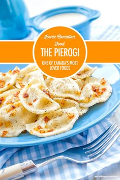 The pierogi is one of Canada's most loved foods and like many well loved Canadian dishes, it originated elsewhere. Learn the history of these fluffy dumplings filled with everything from potato and cheese to fruit. Canadian Dishes, Canadian Cuisine, Canadian Food, Canadian Recipes, Creamy Chicken And Dumplings, Ukrainian Recipes, Ukrainian Food, Slow Cooker Breakfast, Tailgate Food