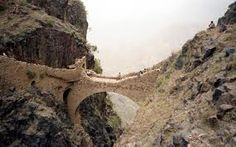 The Shahara Bridge	  Location: Yemen    The unbelievable and the most scary bridge in the world.