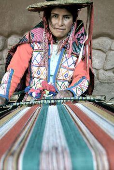 """""""Weaver""""  Vanessa Whited (ISA Summer 1)  Cusco, Peru"""