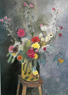 Bouquet of mixed flowers by Henri Matisse