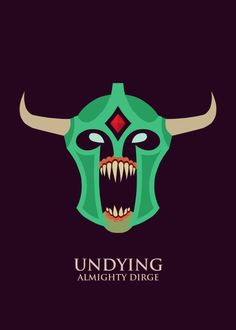 Undying poster from DOTA 2 Gaming Poster Print Character Art, Character Design, Defense Of The Ancients, Minimalist Artwork, Digital Painting Tutorials, Sketchbook Pages, 3d Artwork, Dota 2, Cs Go