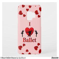 I Heart Ballet Dance Case-Mate Samsung Galaxy Case